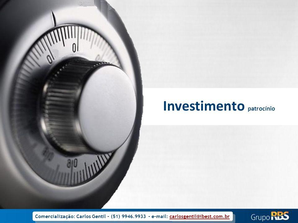 Investimento patrocínio