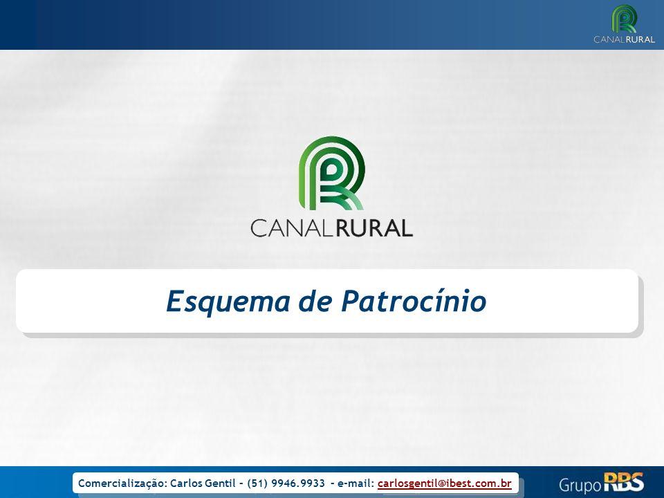 Esquema de Patrocínio Comercialização: Carlos Gentil – (51) 9946.9933 – e-mail: carlosgentil@ibest.com.br.