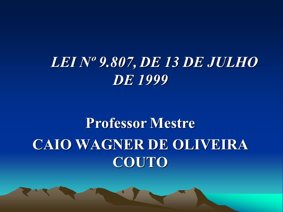 CAIO WAGNER DE OLIVEIRA COUTO