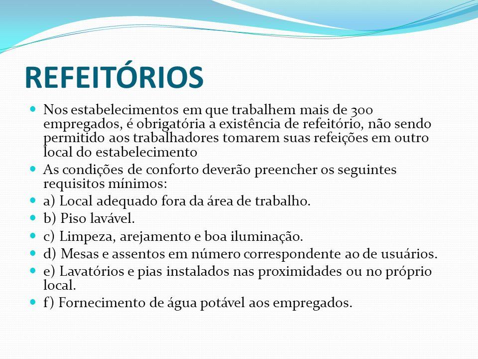 REFEITÓRIOS