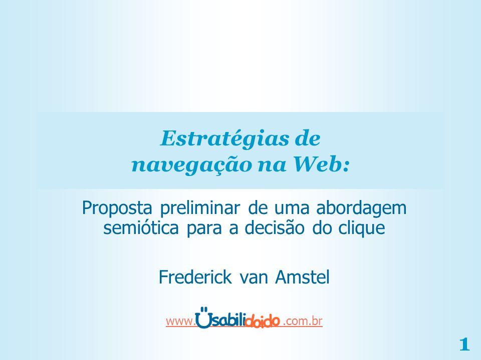 Estratégias de navegação na Web: