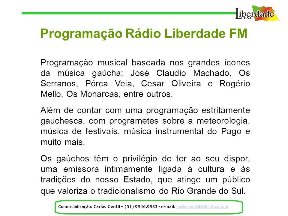 Programação Rádio Liberdade FM