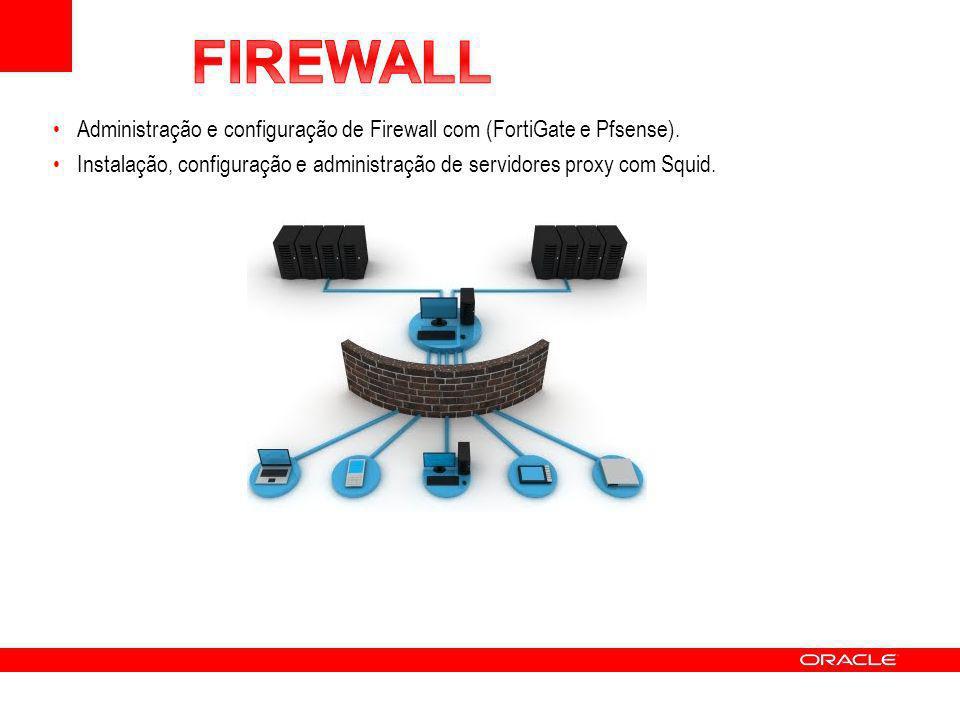 FIREWALL Administração e configuração de Firewall com (FortiGate e Pfsense).