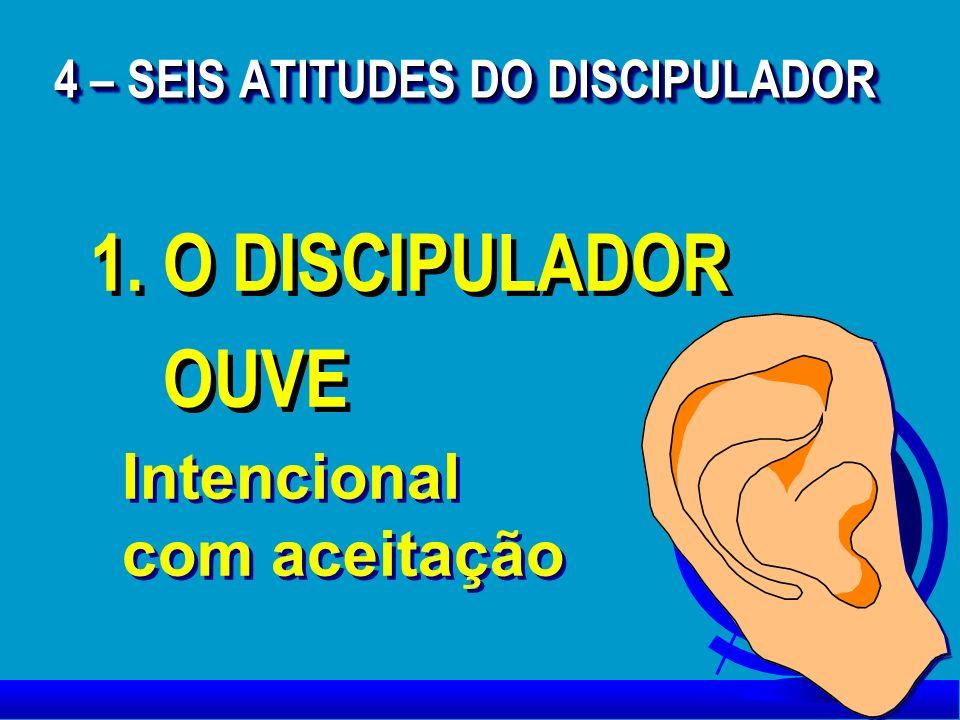 4 – SEIS ATITUDES DO DISCIPULADOR