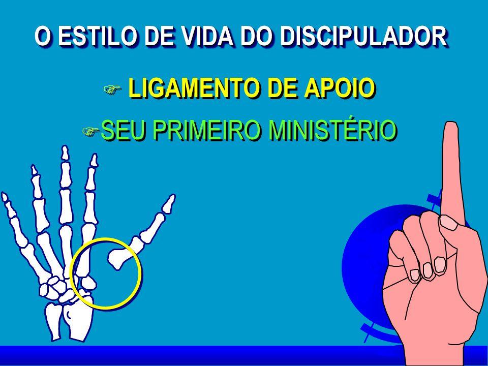 O ESTILO DE VIDA DO DISCIPULADOR