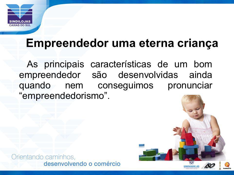 Empreendedor uma eterna criança