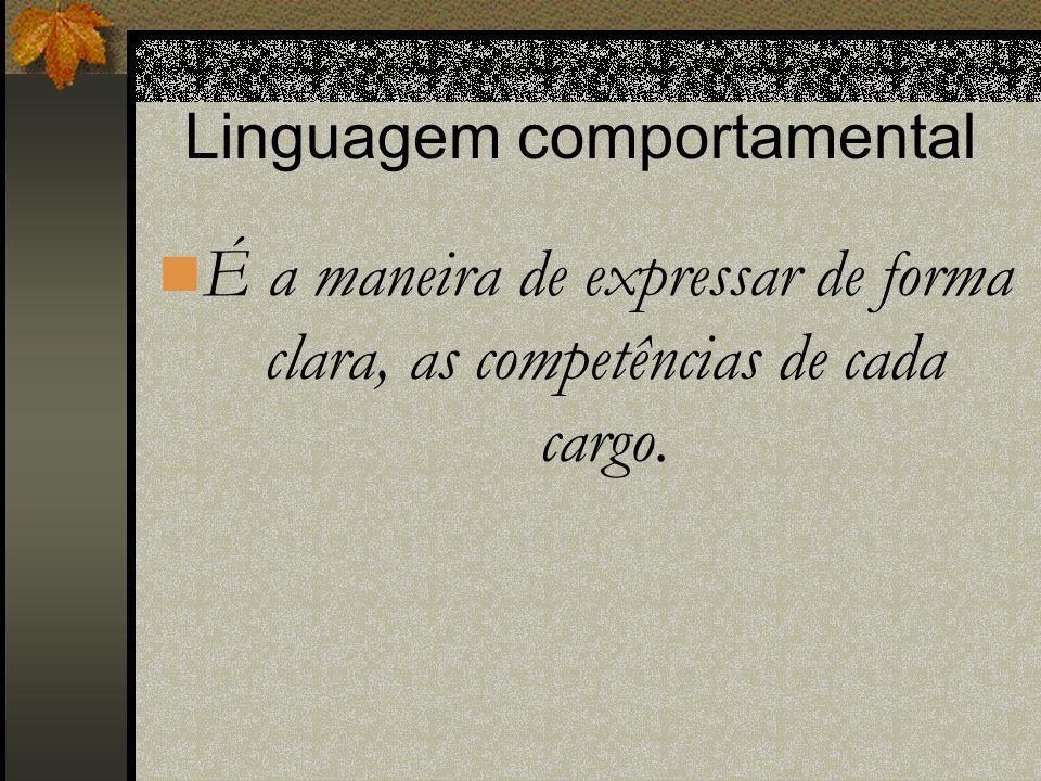 Linguagem comportamental