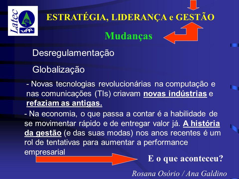 Mudanças Desregulamentação Globalização E o que aconteceu