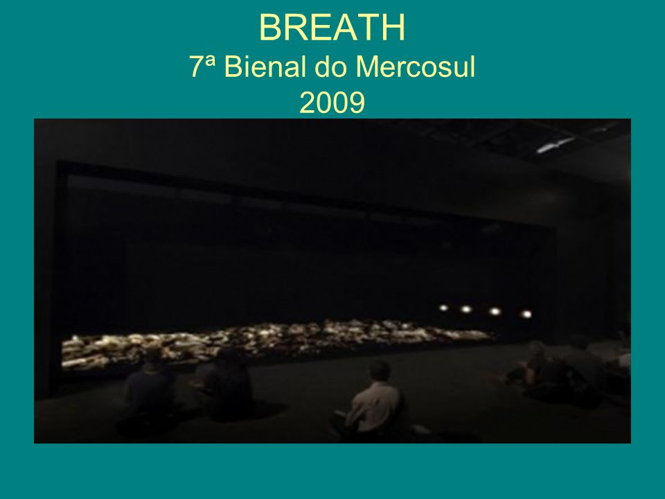 BREATH 7ª Bienal do Mercosul 2009
