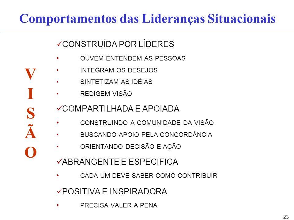 Componentes das Lideranças Situacionais