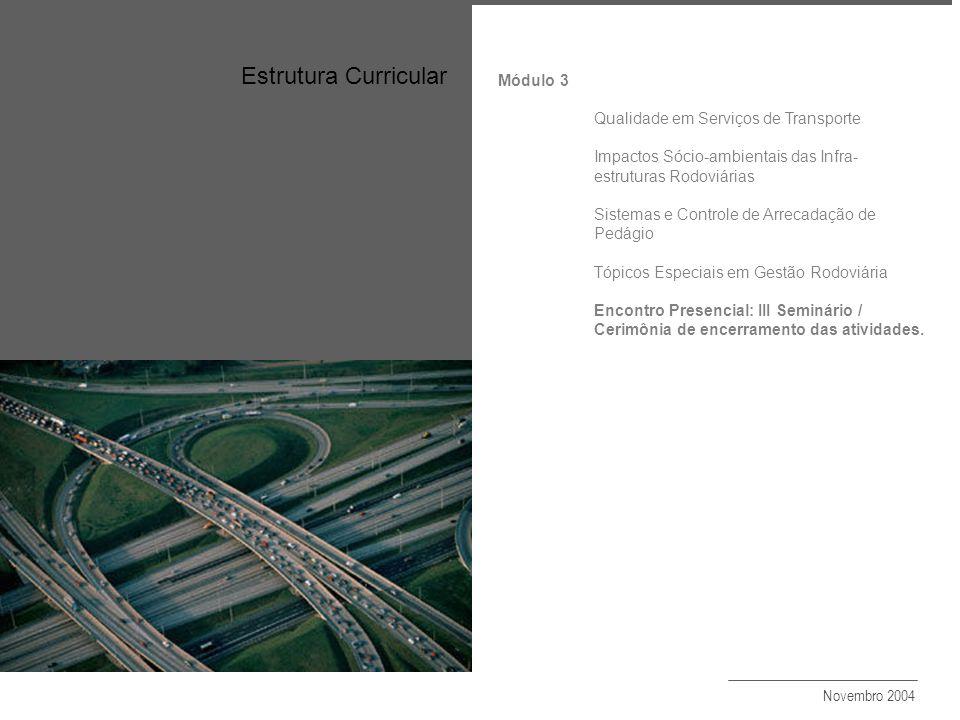 Estrutura Curricular Objetivo Módulo 3