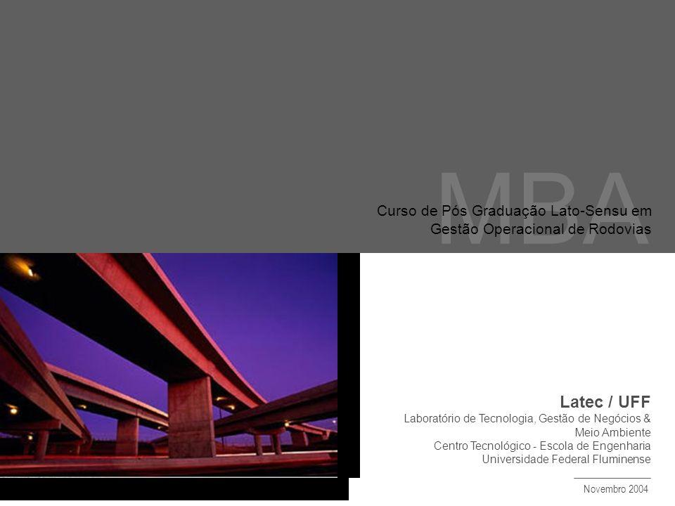 MBA Latec / UFF Curso de Pós Graduação Lato-Sensu em