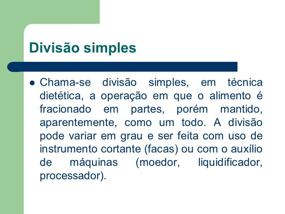 Divisão simples