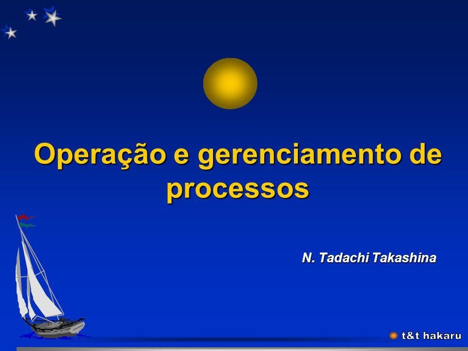 Operação e gerenciamento de processos