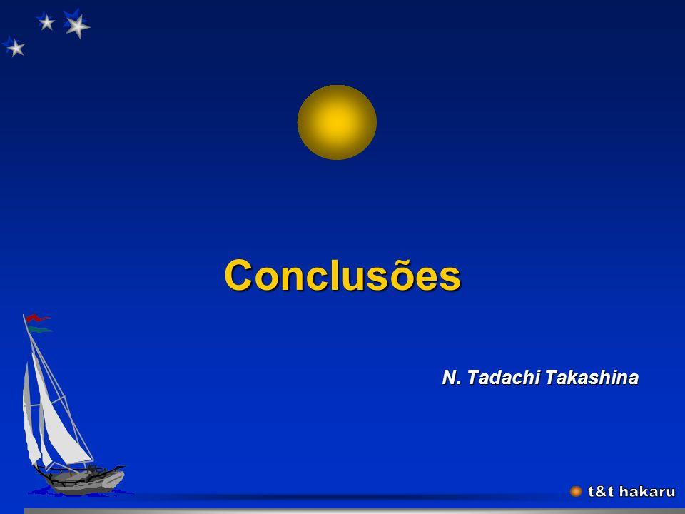 Conclusões N. Tadachi Takashina