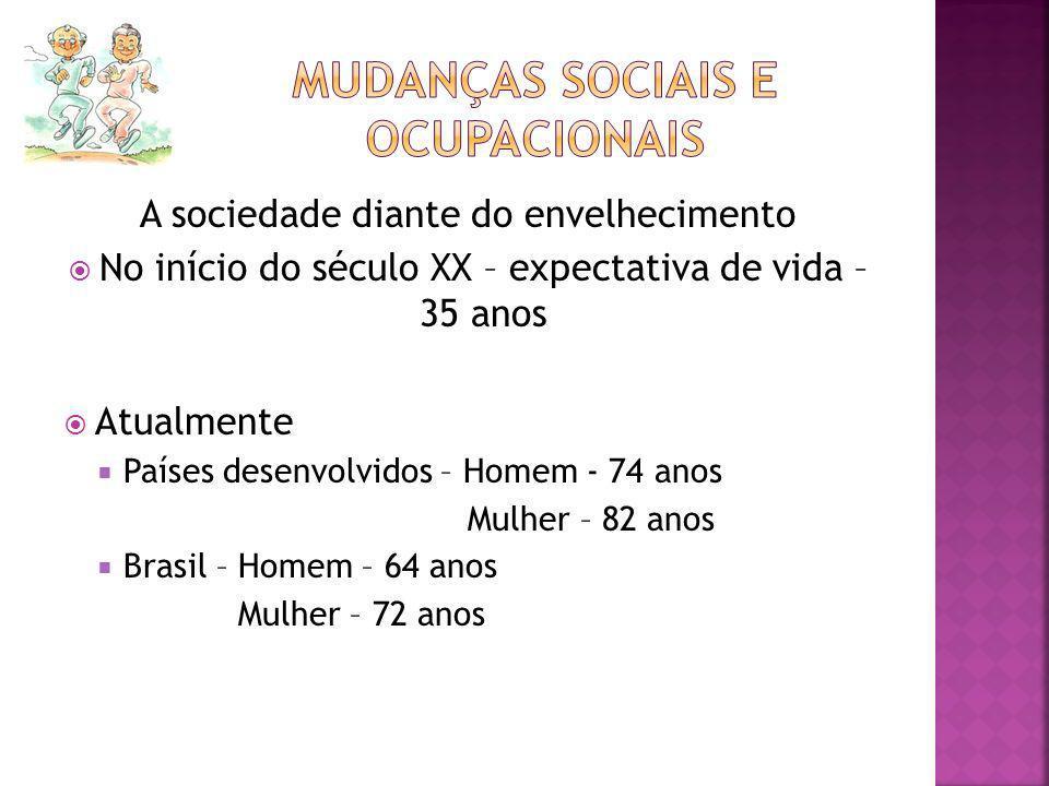 Mudanças sociais e ocupacionais