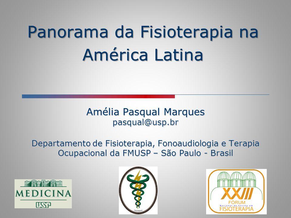 Panorama da Fisioterapia na América Latina