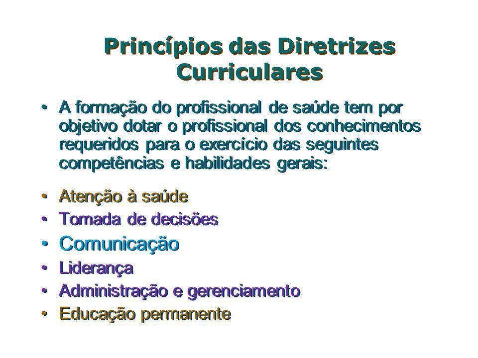 Princípios das Diretrizes Curriculares