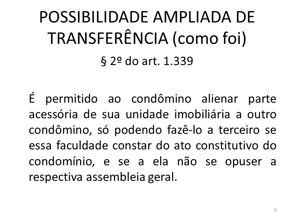 POSSIBILIDADE AMPLIADA DE TRANSFERÊNCIA (como foi)