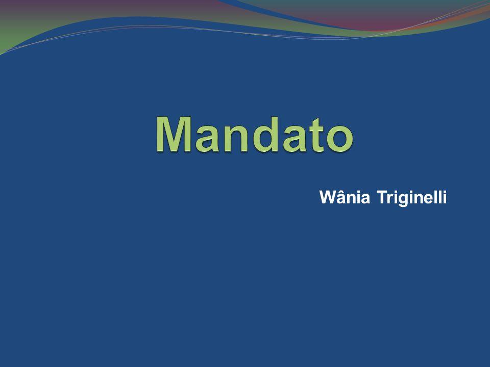 Mandato Wânia Triginelli