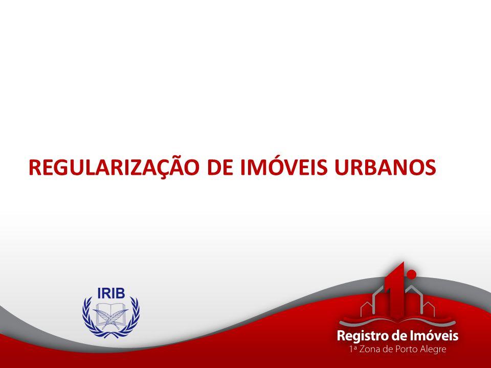 REGULARIZAÇÃO DE IMÓVEIS URBANOS