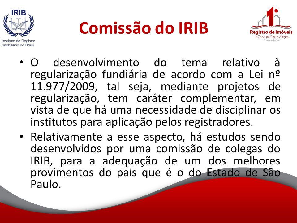 Comissão do IRIB