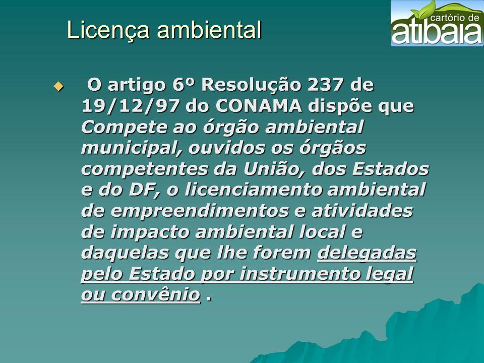 Licença ambiental