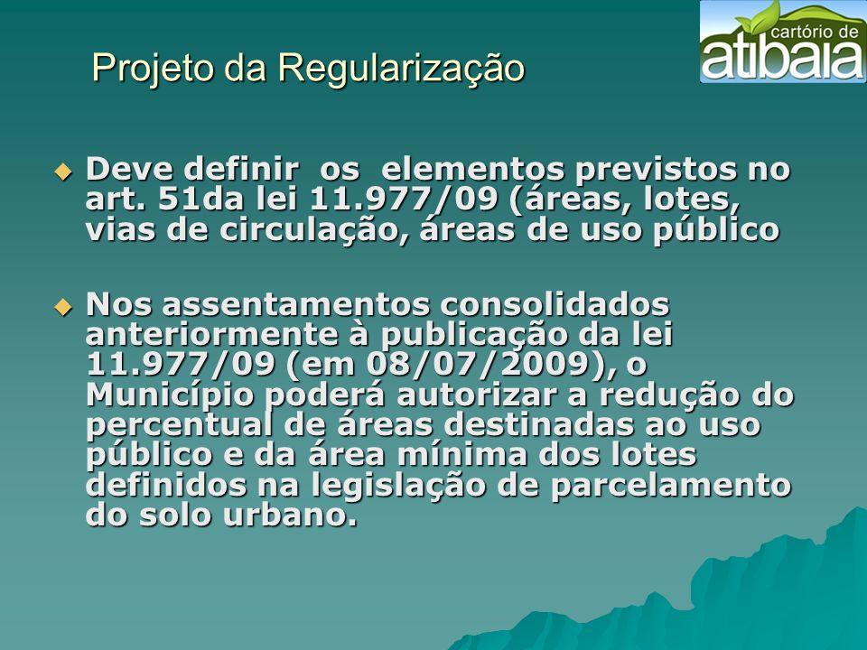 Projeto da Regularização