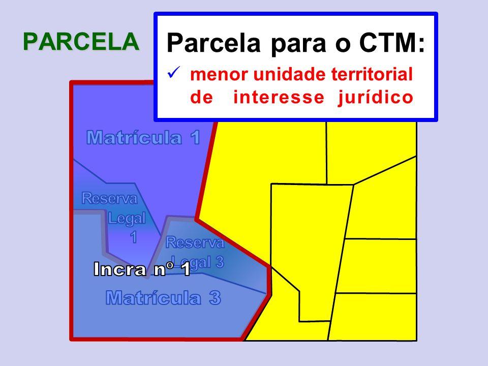Parcela para o CTM: PARCELA