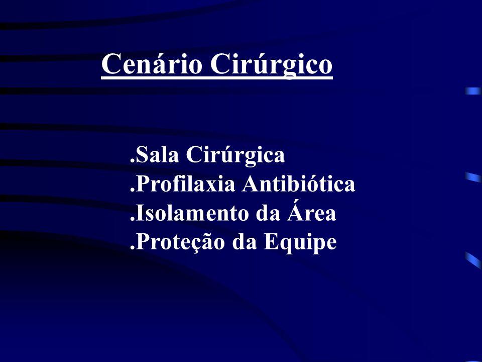Cenário Cirúrgico .Sala Cirúrgica .Profilaxia Antibiótica