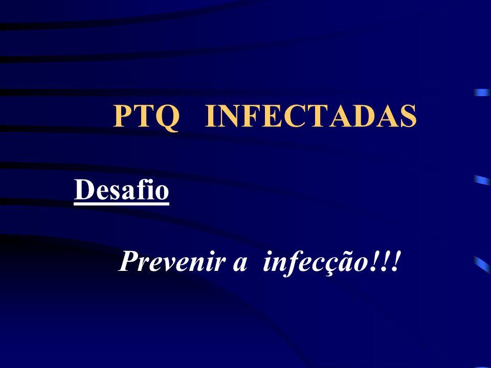 PTQ INFECTADAS Desafio Prevenir a infecção!!!