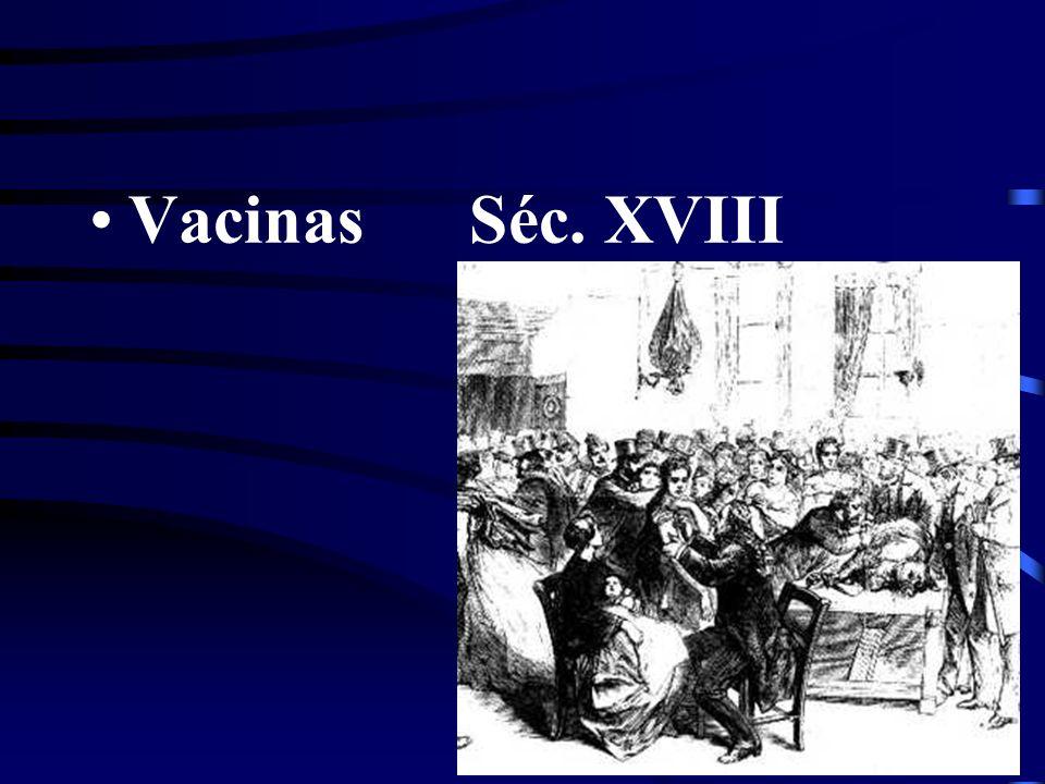 Vacinas Séc. XVIII
