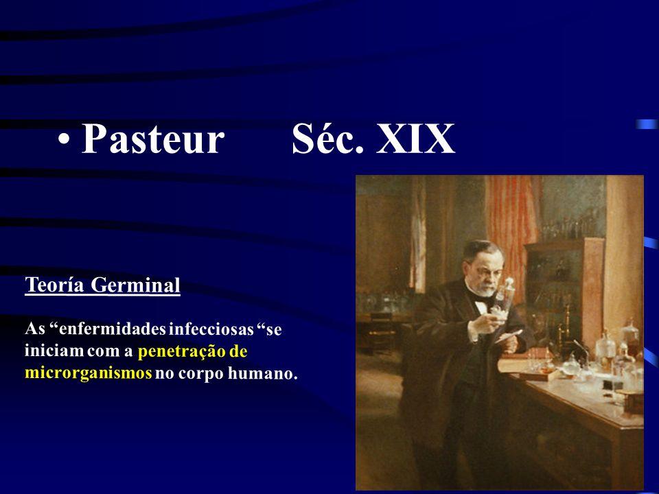 Pasteur Séc. XIX Teoría Germinal