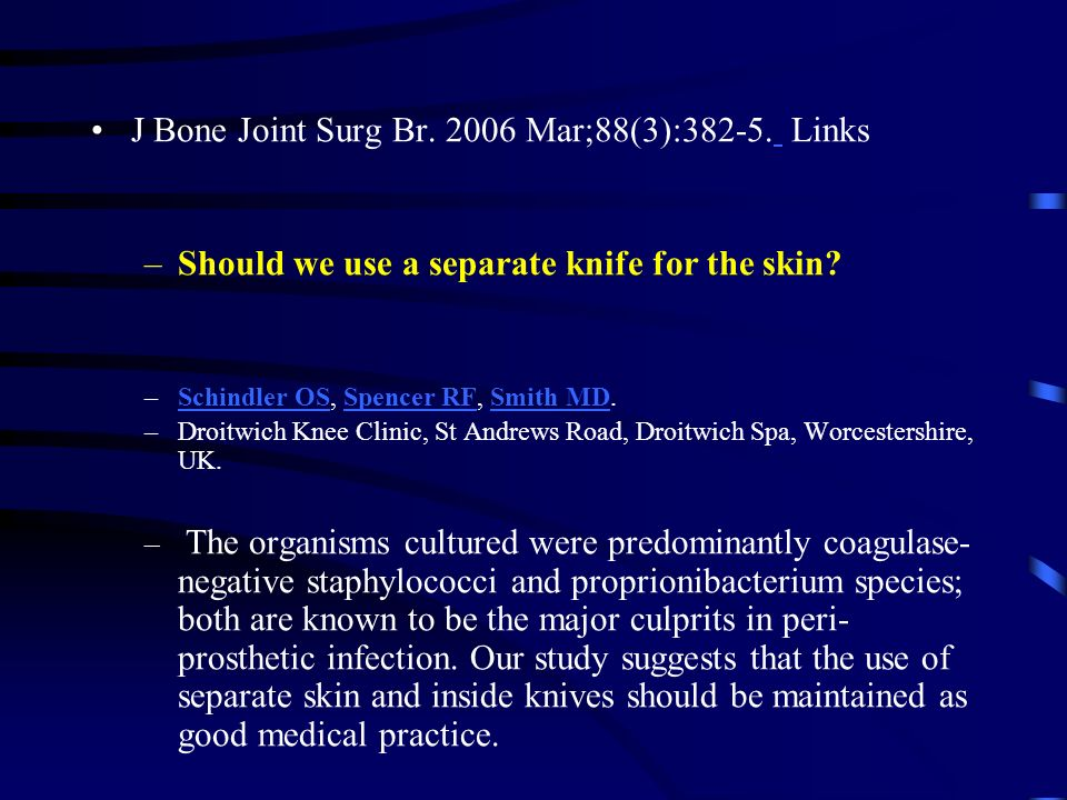 J Bone Joint Surg Br. 2006 Mar;88(3):382-5. Links