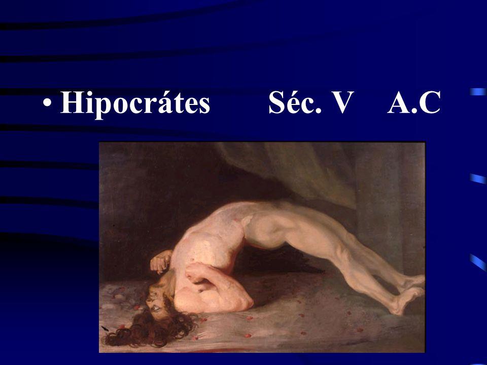 Hipocrátes Séc. V A.C