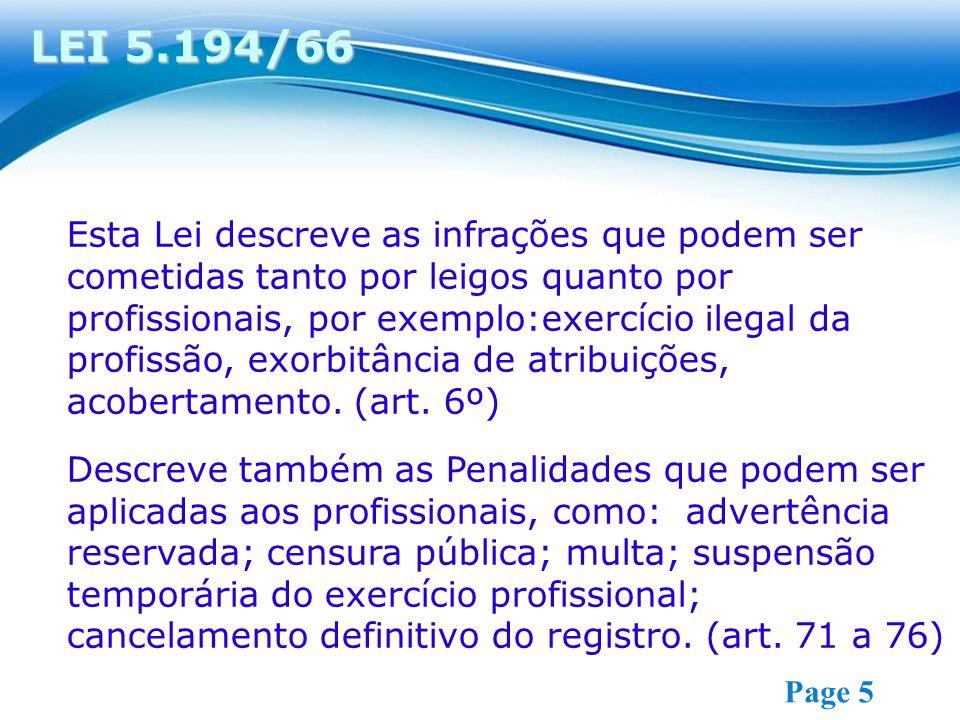LEI 5.194/66