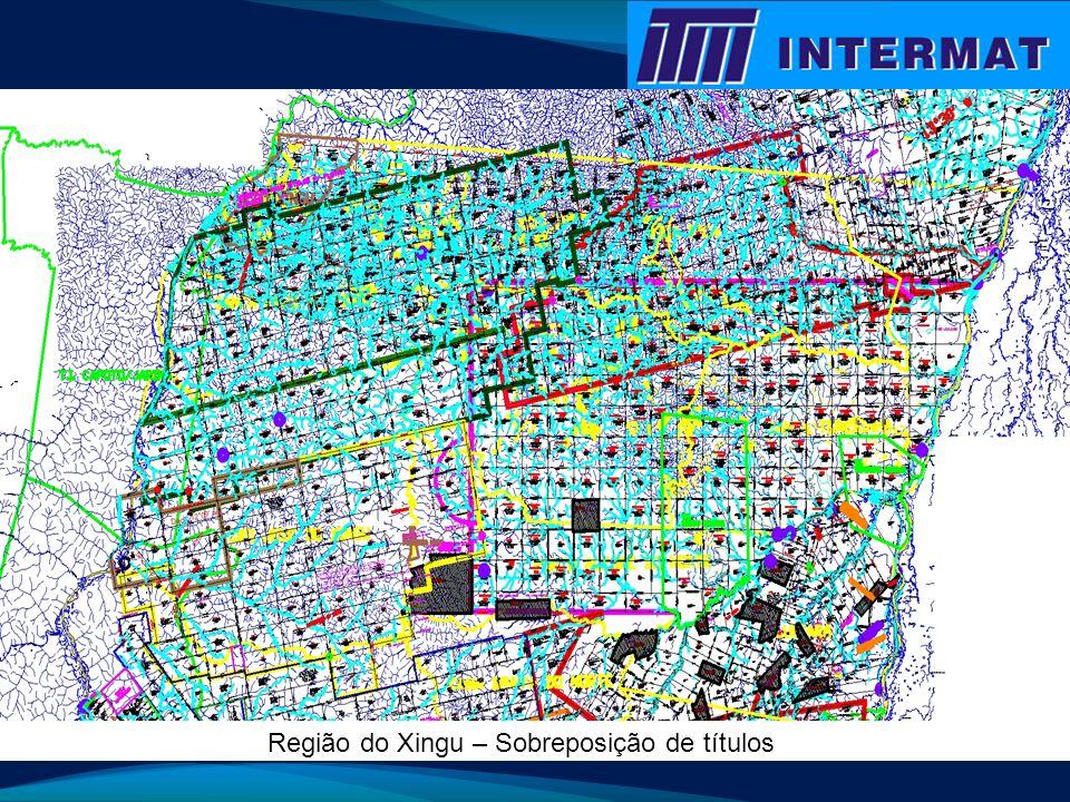 Região do Xingu – Sobreposição de títulos
