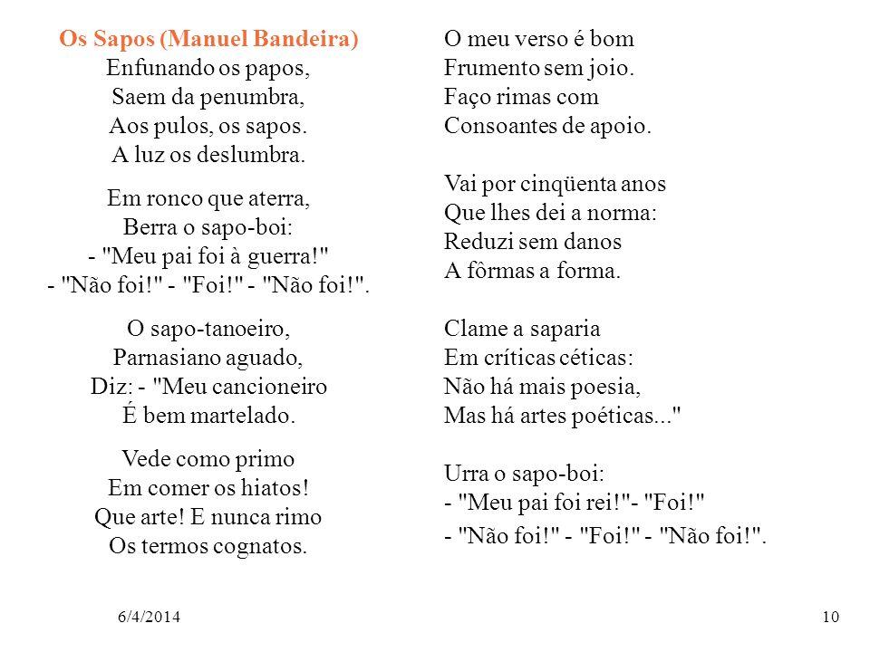 Os Sapos (Manuel Bandeira)