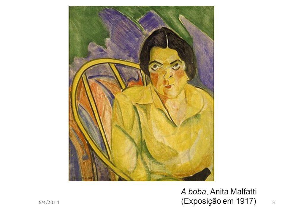 A boba, Anita Malfatti (Exposição em 1917)