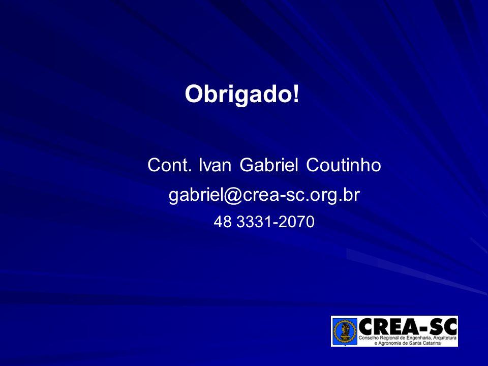 Cont. Ivan Gabriel Coutinho