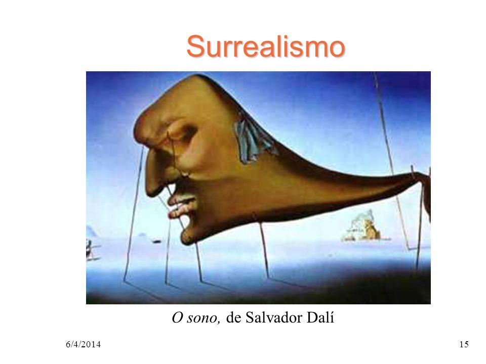 Surrealismo O sono, de Salvador Dalí 26/03/2017