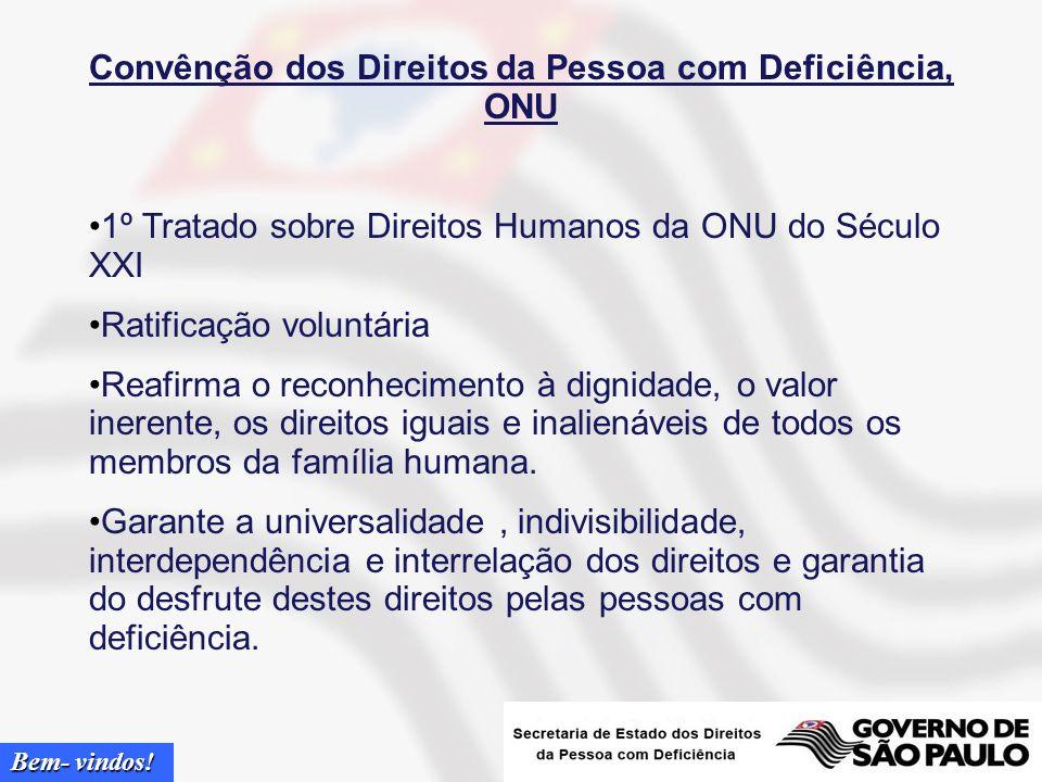 Convênção dos Direitos da Pessoa com Deficiência, ONU