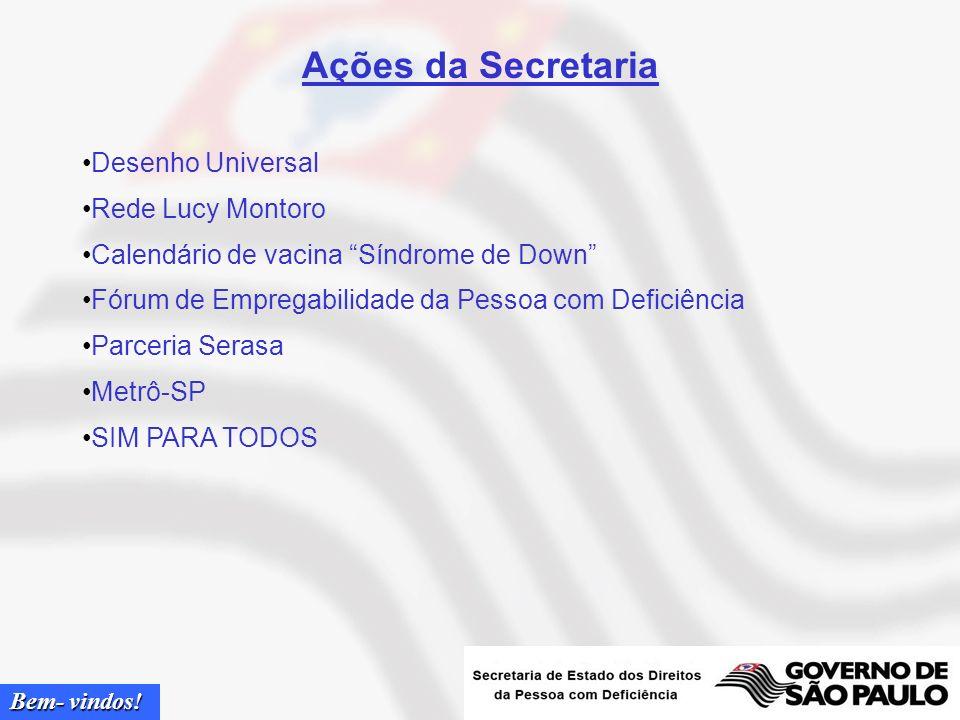 Ações da Secretaria Desenho Universal Rede Lucy Montoro