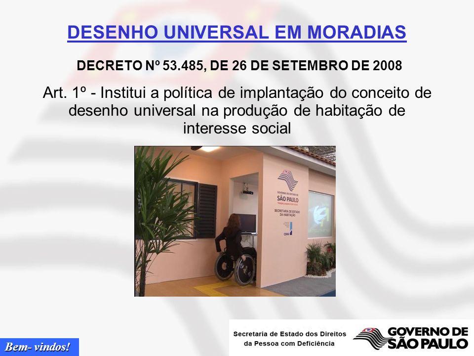 DESENHO UNIVERSAL EM MORADIAS