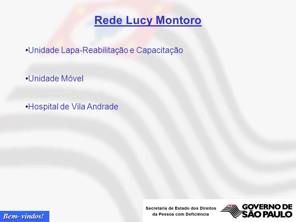 Rede Lucy Montoro Unidade Lapa-Reabilitação e Capacitação