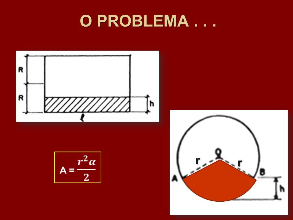 O PROBLEMA . . . r r