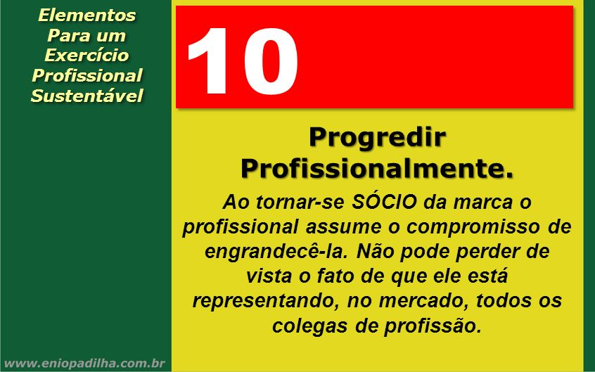 Exercício Profissional Progredir Profissionalmente.