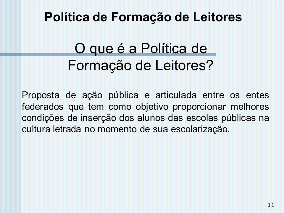 Política de Formação de Leitores