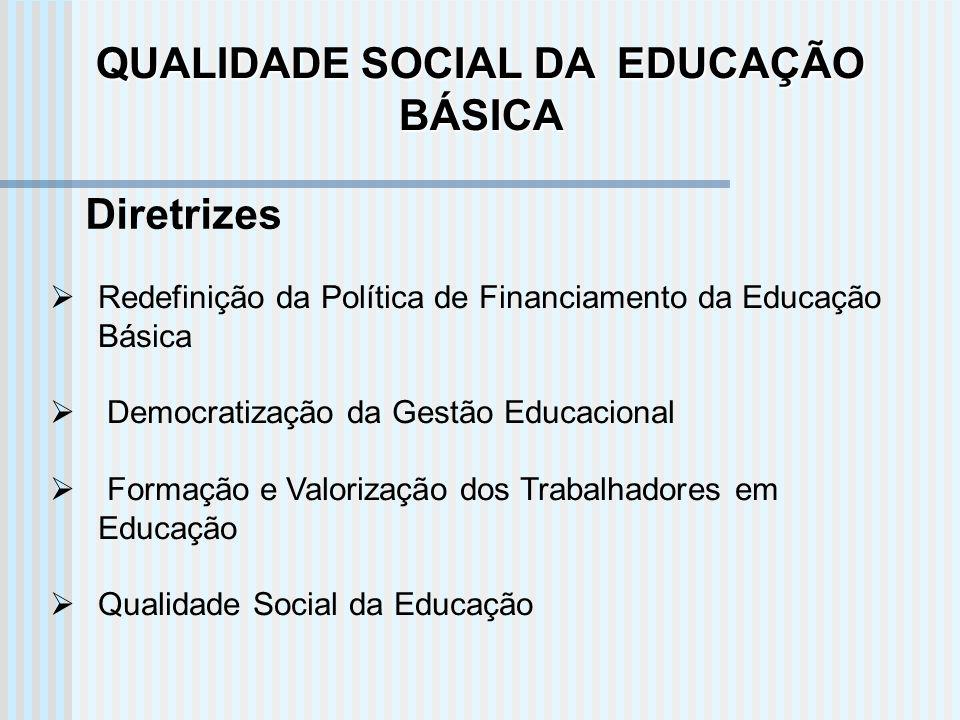 QUALIDADE SOCIAL DA EDUCAÇÃO BÁSICA