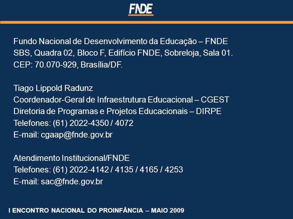 Fundo Nacional de Desenvolvimento da Educação – FNDE